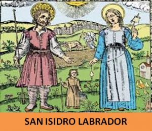 15 de mayo. Fiesta de San Isidro Labrador