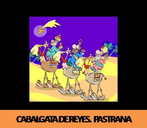 5 de enero, 19:00h. Saludo de los Reyes en la plaza del Ayuntamiento de Pastrana.